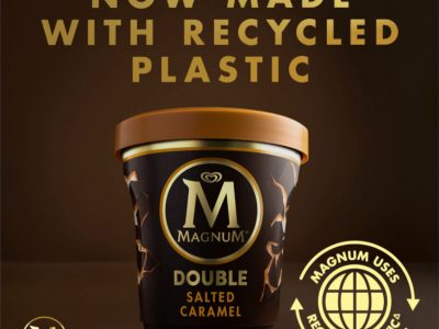 Magnum Launches Tubs Made Using Certified Circular Polypropylene From Sabic's Trucircle™ Portfolio