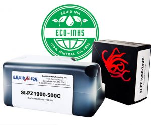 ENVIRONMENTALLY FRIENDLY MINERAL OIL FREE INKS, FROM SQUID INK MANUFACTURING