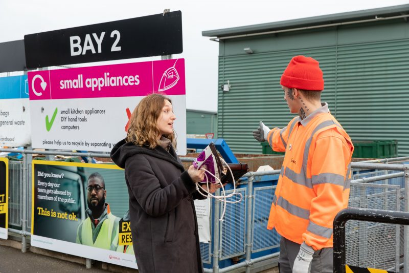 Veolia comment on Recycle Week