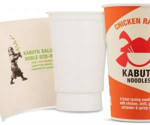Kabuto Noodles chooses 100% recyclable packaging with a hidden eco-warrior