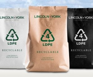 """Lincoln & York's recyclable coffee packaging receives GOLD """"Packaging Innovation Award 2020"""""""