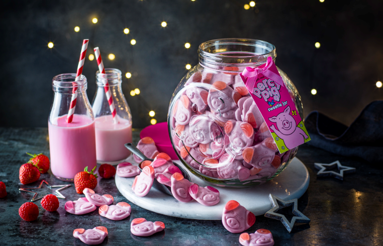 M&S launch Percy Pig sweetie jar packaged by Croxsons