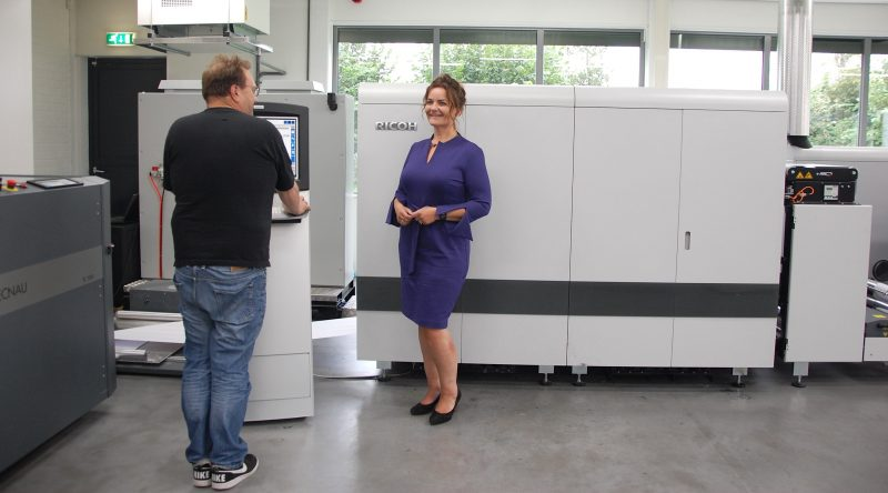 DATA B. MAILSERVICE STRENGTHENS POSITION IN HIGH VOLUME INKJET WITH RICOH PRO VC20000
