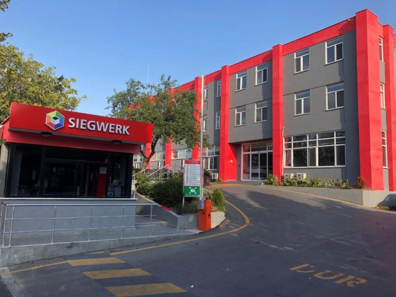 Siegwerk Turkey finished biggest reconstructions in its history setting new production standards going forward