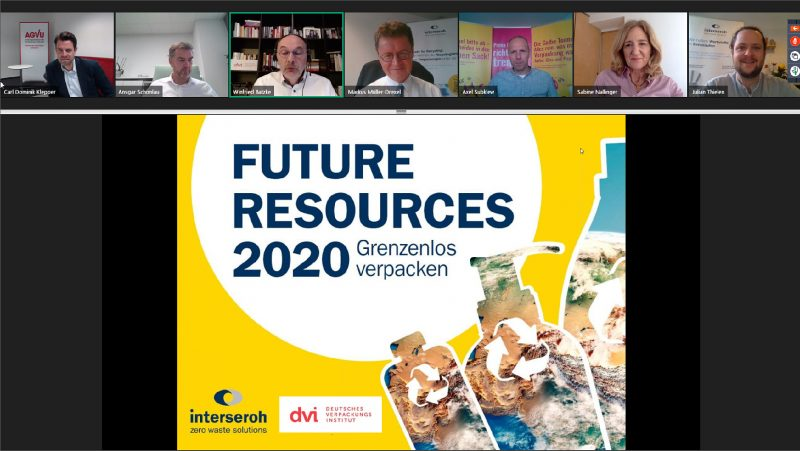 """""""Future Resources 2020"""": fourth meeting between Interseroh and the German Packaging Institute with the motto """"packaging without borders"""""""