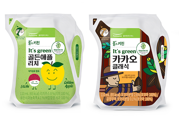 Ecolean provides lightweight packaging solutions for South Korean food company Pulmuone