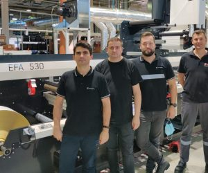 Rottaprint expands shrink sleeve label production with an MPS flexo press