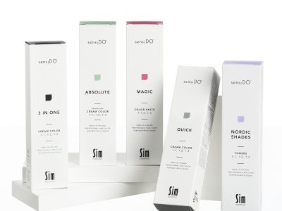 A perfect match made both in sustainability and looks – Metsä Board's paperboard selected for the packaging of SensiDO hair products