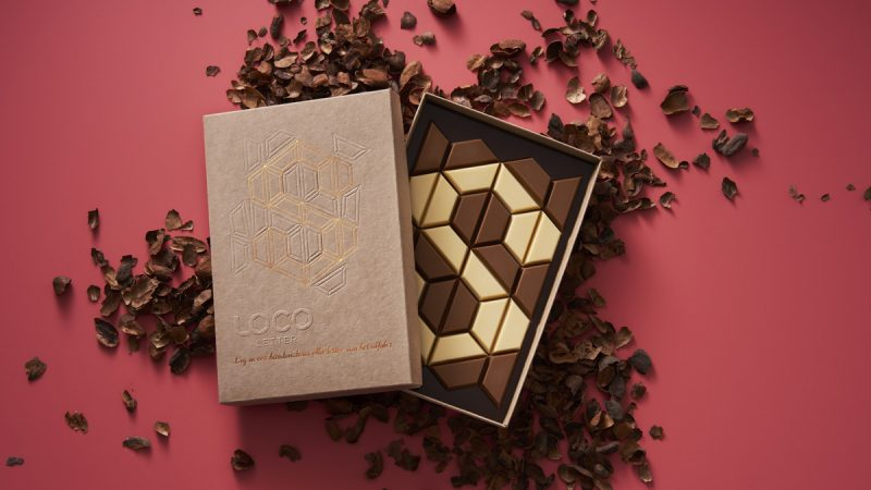 Utilising waste materials to create a desirable and sustainable packaging design for premium chocolate.