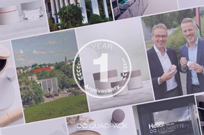 Quadpack celebrates the first anniversary of the acquisition that brought two cultures together