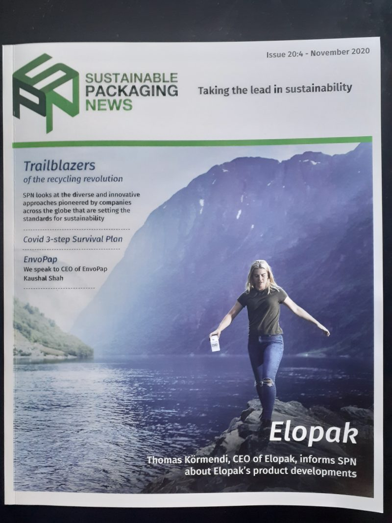 Sustainable Packaging News 20:4 November Edition Printed