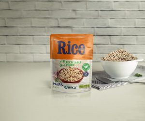 Mars Food and Amcor announce an industry first move to launch a recyclable microwavable rice pouch