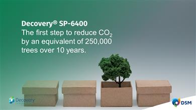DSM launches new Decovery® sustainable resin to help packaging market lower its carbon footprint
