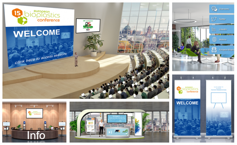 Bioplastics industry discussed economic and political developments at 15th EUBP Conference