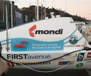 Mondi sponsors Bristol Gulls as they row across the Atlantic to raise awareness for plastic pollution