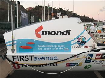 Mondi sponsors Bristol Gulls as they row across the Atlantic to raise awareness for plastic pollution