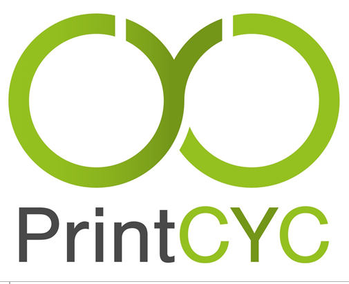 Successful recycling of printed plastic films and processing of recyclate