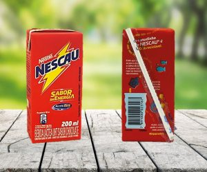 Nestlé Brazil introduces paper straws from SIG on all NESCAU carton packs