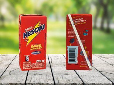 Nestlé Brazil introduces paper straws from SIG on all NESCAU carton packs