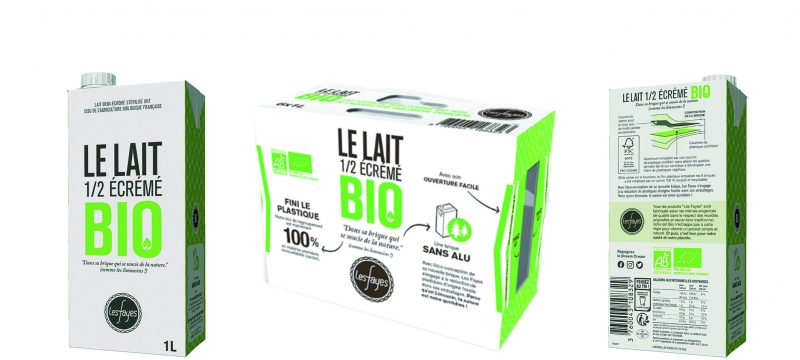 Les Fayes Dairy launches SIGNATURE 100 from SIG in France