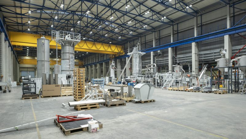 Starlinger doubles production capacity for plastics recycling systems