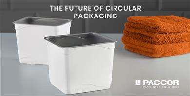 PACCOR ready to produce containers with post-consumer PP from Total Circular Compounds®