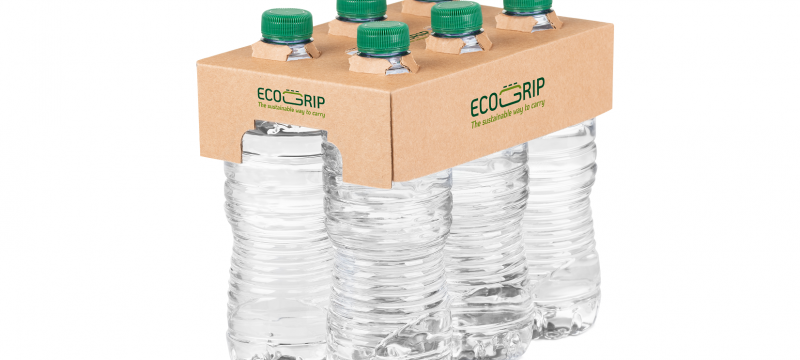 ECOGRIP Delivers the Sustainable Multi-packing of Bottles