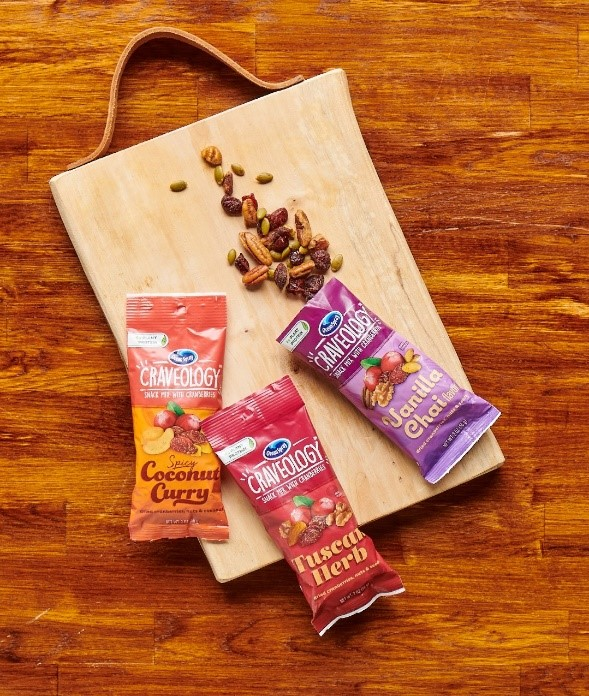 ProAmpac and Ocean Spray Announce Premium Recyclable Snack Packaging