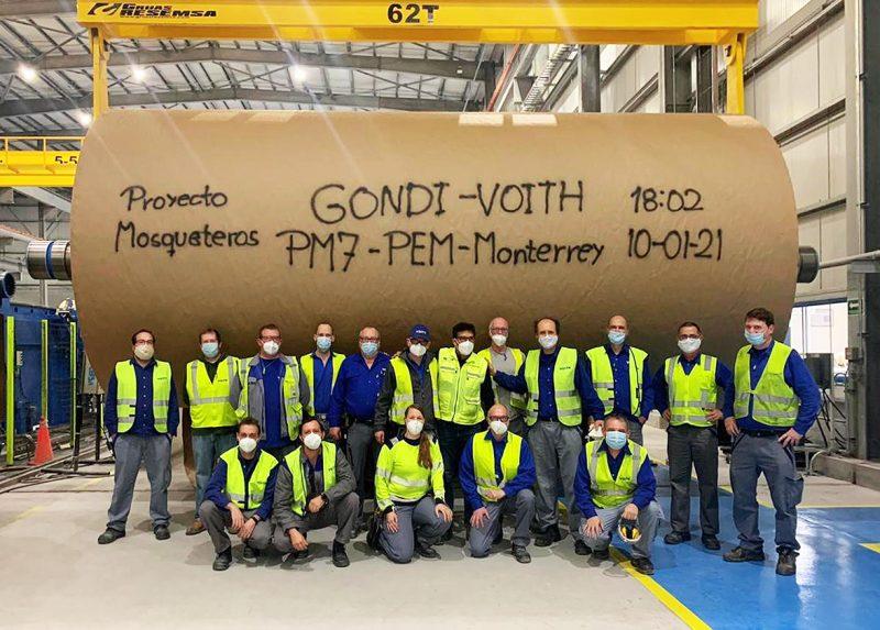 Successful start-up of cutting-edge paper machine Grupo Gondi PM 7 in Mexico