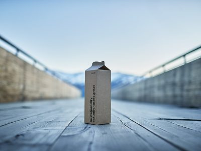 Elopak Records One Billion Natural Brown Board Cartons