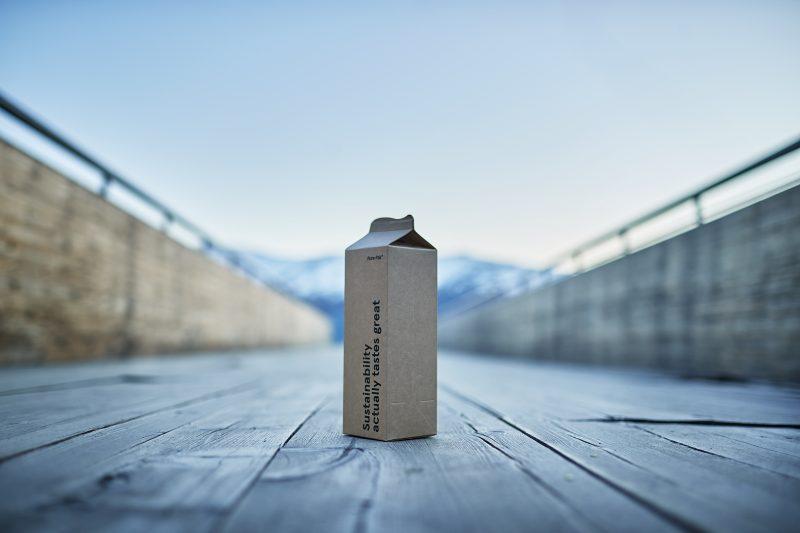 Elopak Records One Billion Natural Brown Board Cartons