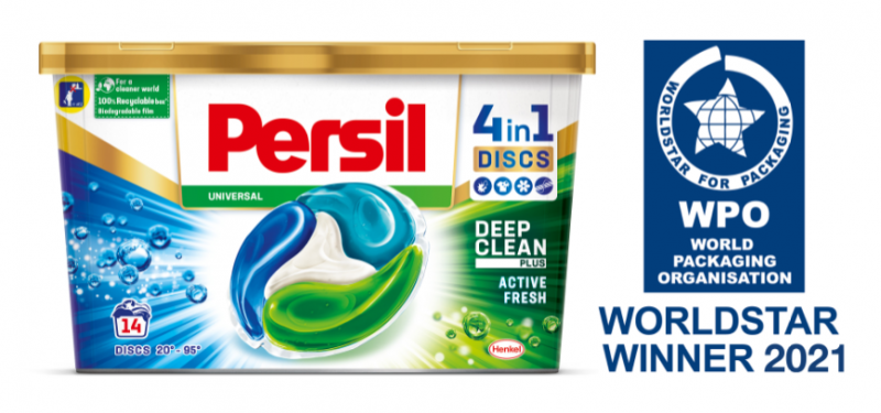 K3® r-PP packaging solutions for Henkel at the Worldstar Global Packaging Awards 2021