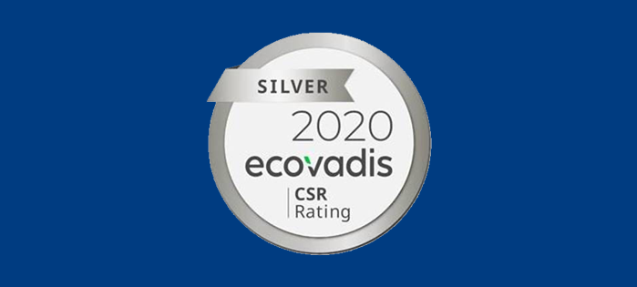 RETAL increases EcoVadis Silver rating to 58%