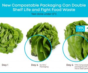 New compostable packaging can double shelf-life of fresh produce