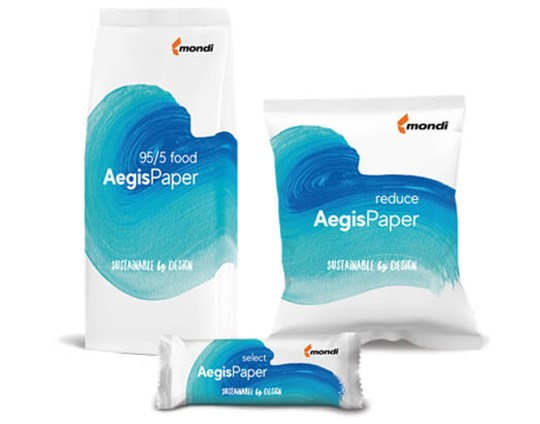 Mondi launches AegisPaper, a complete range of recyclable barrier papers for sustainable packaging solutions