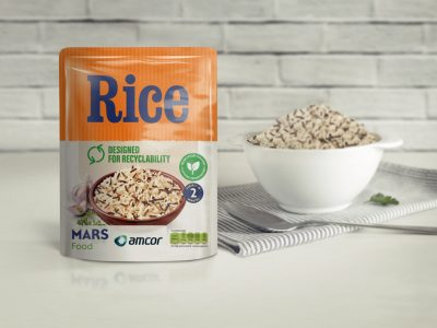 Supermarket Roll-out of Easier to Recycle Microwavable Rice Pouches