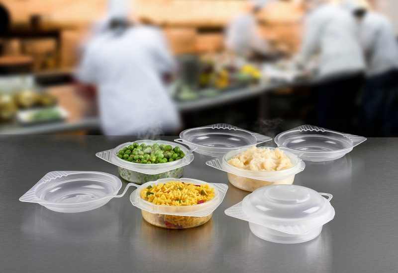 New Range of Reusable, Microwavable Hinged-lid Food Containers