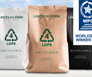 Recyclable Coffee Packaging Range receives international recognition