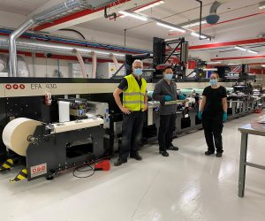 Eson Pac AB further invests in pharma label production with MPS EFA flexo press