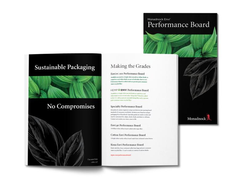 Monadnock Paper Mills Launches New Envi Performance Board Portfolio