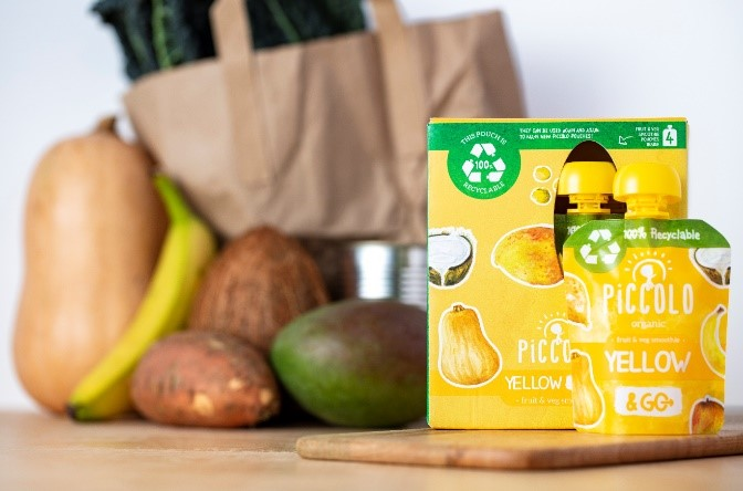 The UK's first 100% recyclable baby food pouch launches