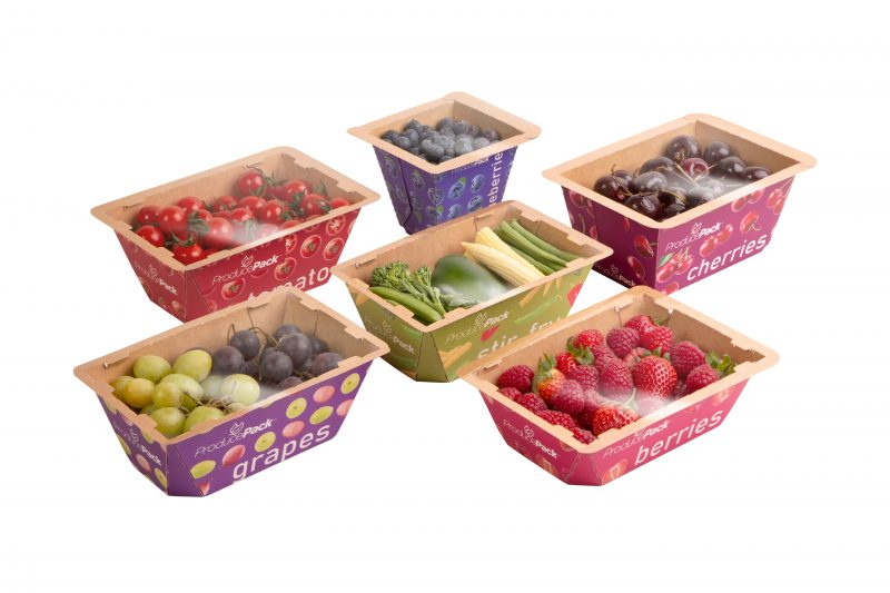 Innovative Paperboard Punnet from Graphic Packaging International