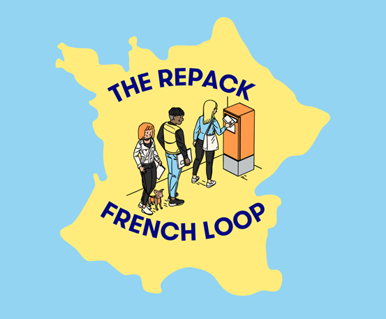 La Poste and RePack in cooperation to develop a #FrenchLoop in France!