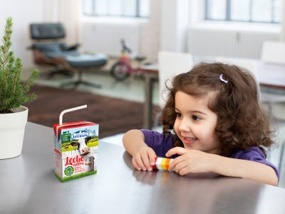 First commercial launch for SIG's Paper U-straw for aseptic cartons