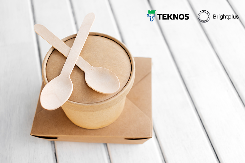 Teknos and Brightplus develop bio-based and biodegradable solutions for food packaging