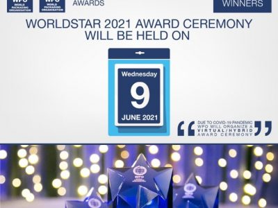 WPO announces the date for the Virtual Ceremony of WorldStar 2021 & the Finalist Candidates for WorldStar Special Awards
