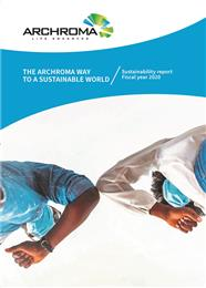 Archroma releases its 2020 sustainability report