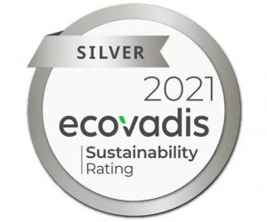 Cardbox Packaging has earned a silver rating of Ecovadis