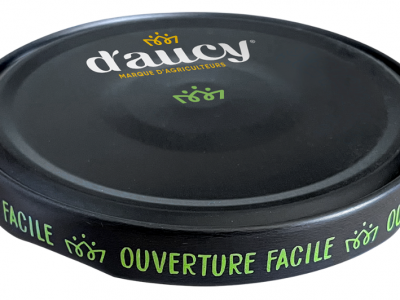 D'aucy premiers Crown's easy open Orbit™ closure