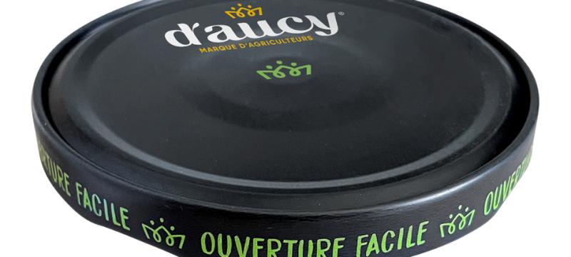 D'aucy premiers Crown's easy open Orbit™ closure